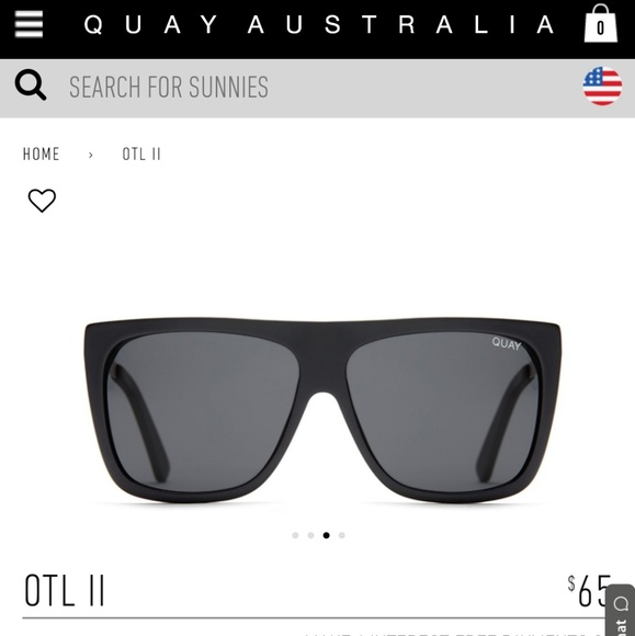854e349f94 OTL II Quay x Desi Perkins Black Sunglasses. M 5c3bca59e944ba0fcba79f2f